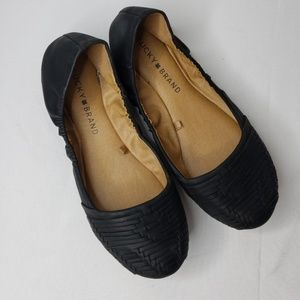 Lucky Brand Emily Black Ballet Flats Size 6 . Exce